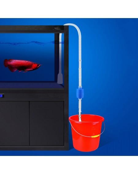 Aquarium Siphon Tube Fish Tank Cleaner Vacuum Pump Gravel Filter Trap Sand Exchange Water Tool Suction Tube (1.4m)