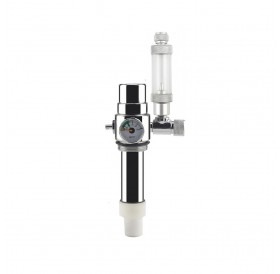 Pressure Reducing Valve+Bubble Counter for 2L Double Stainless Steel Bottle Aquarium CO2 Generator System