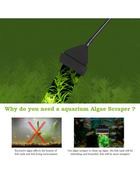 Aquarium Algae Scraper Fish Tank Cleaner Keep Hands Dry Sharp Scraper to Remove Algae 40CM