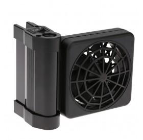 Aquarium Cooling Fan Fish Tank Cold Wind Chiller Adjustable 2 Level Wind 100-240V