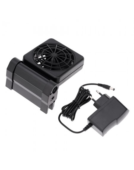Aquarium Cooling Fan Fish Tank Cold Wind Chiller Adjustable 2 Level Wind 100-240V