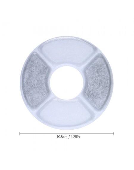 6pcs/set Filter Element Set of 6pcs Activated Carbon Filters for Pet Water Dispenser