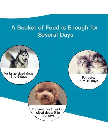 Automatic Pet Water Food Dispenser 3.5L Large Capacity Self-Dispensing Gravity