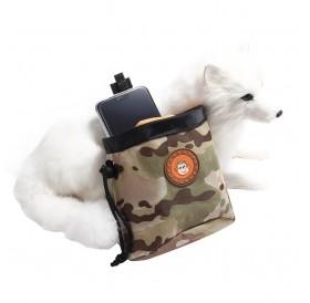 Portable Detachable Dog Training Treat Bags Doggie Pet Feed Pocket Pouch Outdoor Puppy Food Saver Snack Reward Waist Bag