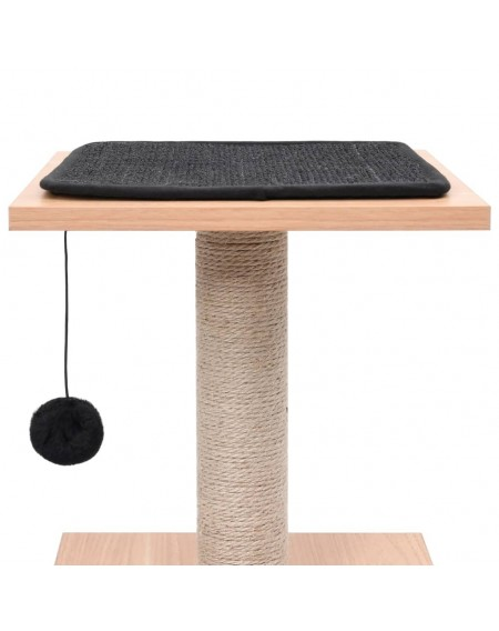 Cat scratching post with sisal scratching mat 62 cm