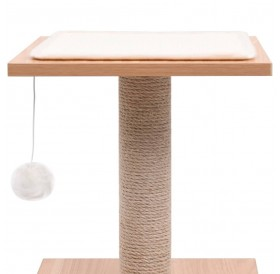 Scratching post for cats with sisal scratching mat 62 cm