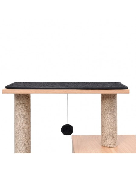 Cat scratching post with sisal scratching mat 82 cm