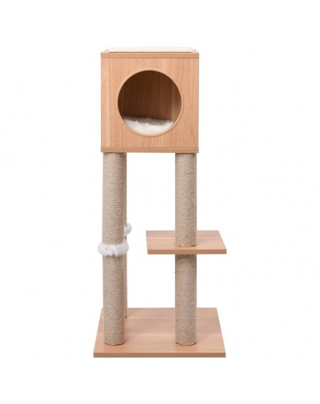 Cat scratching post with sisal scratching mat 90 cm