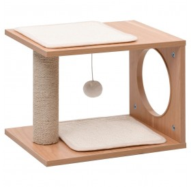 Small cat scratching post with sisal scratching mats 30 cm