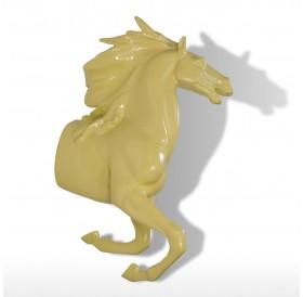 Tooarts Resin Running Horse Wall Decor Hook Rustic Innovative Sculpture