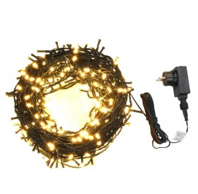 Fairy lights 600 LEDs Indoor and Outdoor IP44 60 m Warm white
