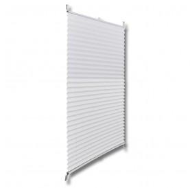 White Curtain Pleated blind Plisse 80X150cm