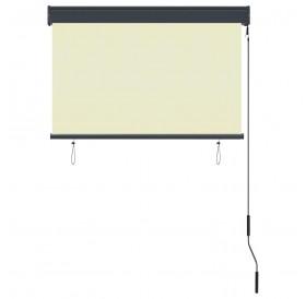 External roller blind 100 x 250 cm cream white