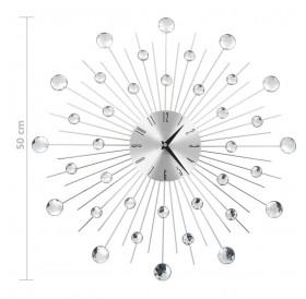 Wall clock with quartz movement Modern design 50 cm