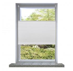 White Curtain Pleated blind Plisse 90X100cm
