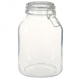 Mason jars with swing top 6 pcs. 3 l