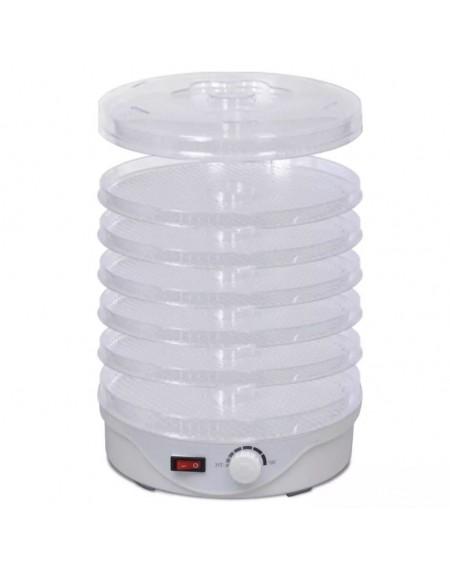 Dehydrator machine with 6 round trays