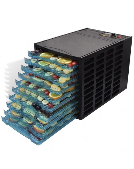 Dehydrator machine with 10 trays