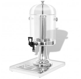 Stainless steel juice dispenser 8 L