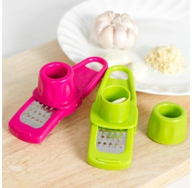 Kitchen Tools Home Grinding Garlic Creative Multi-functional Cutting Garlic Tool  Random Color