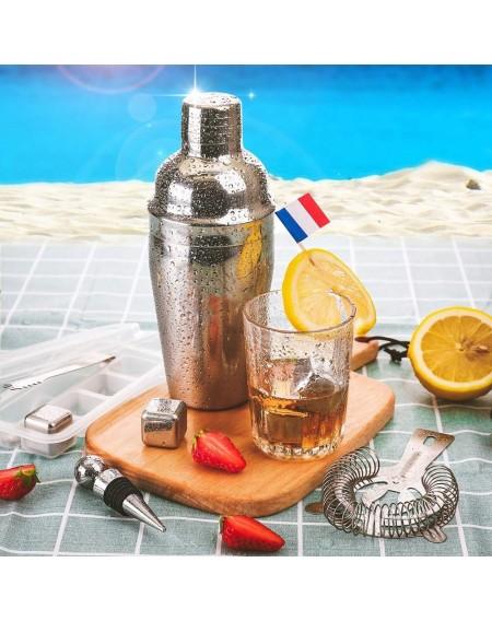 22pcs Bar Cocktail Set Boston Shaker Drink Making Kit Stainless Mixer Making Gift