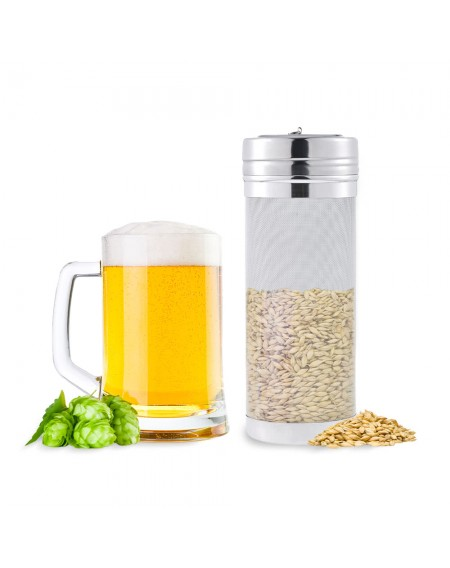 400 Micron Mesh Stainless Steel Beer Keg Dry Hopper Home Beer Brewing Filter Hop Strainer