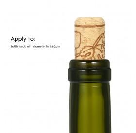 100pcs/set Wine Bottle Stopper 44*22mm Set of 100pcs Red Wine Bottle Stopper Oak Red Wine Bottle Stopper Oak Wine Corks