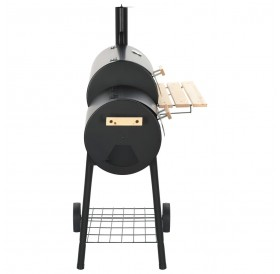 Classic Charcoal BBQ Offset Smoker