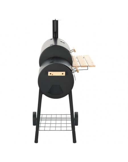Classic Charcoal BBQ Offset Smoker