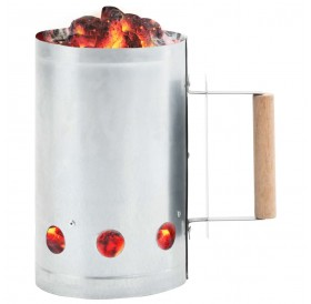Fireplace for charcoal grill Galvanized steel