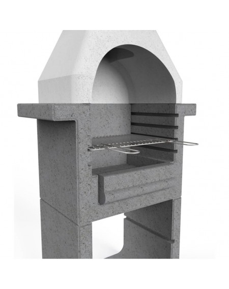 Charcoal barbecue Grill fireplace Concrete